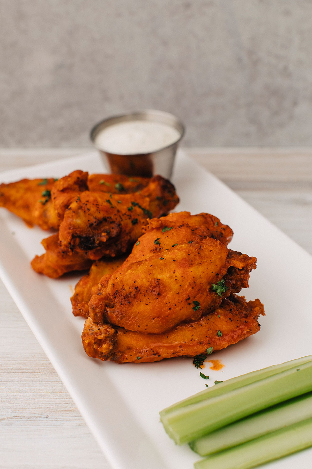 Join us for Happy Hour Hot Wings